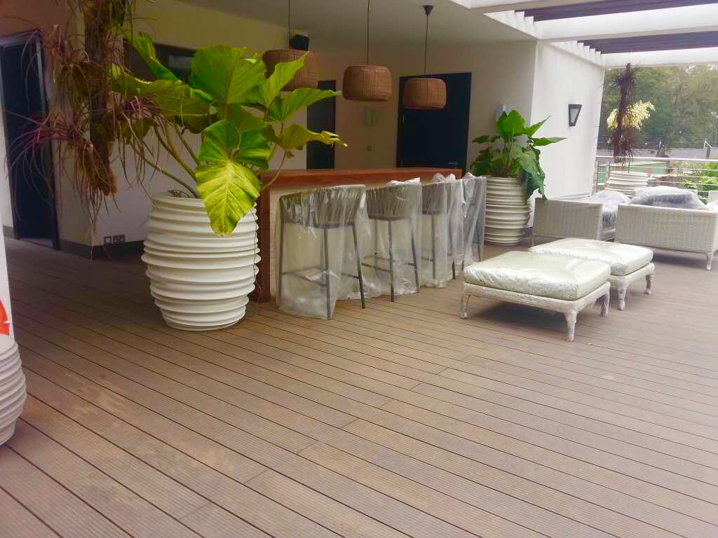 Muthaiga Residence Composite Decking 1