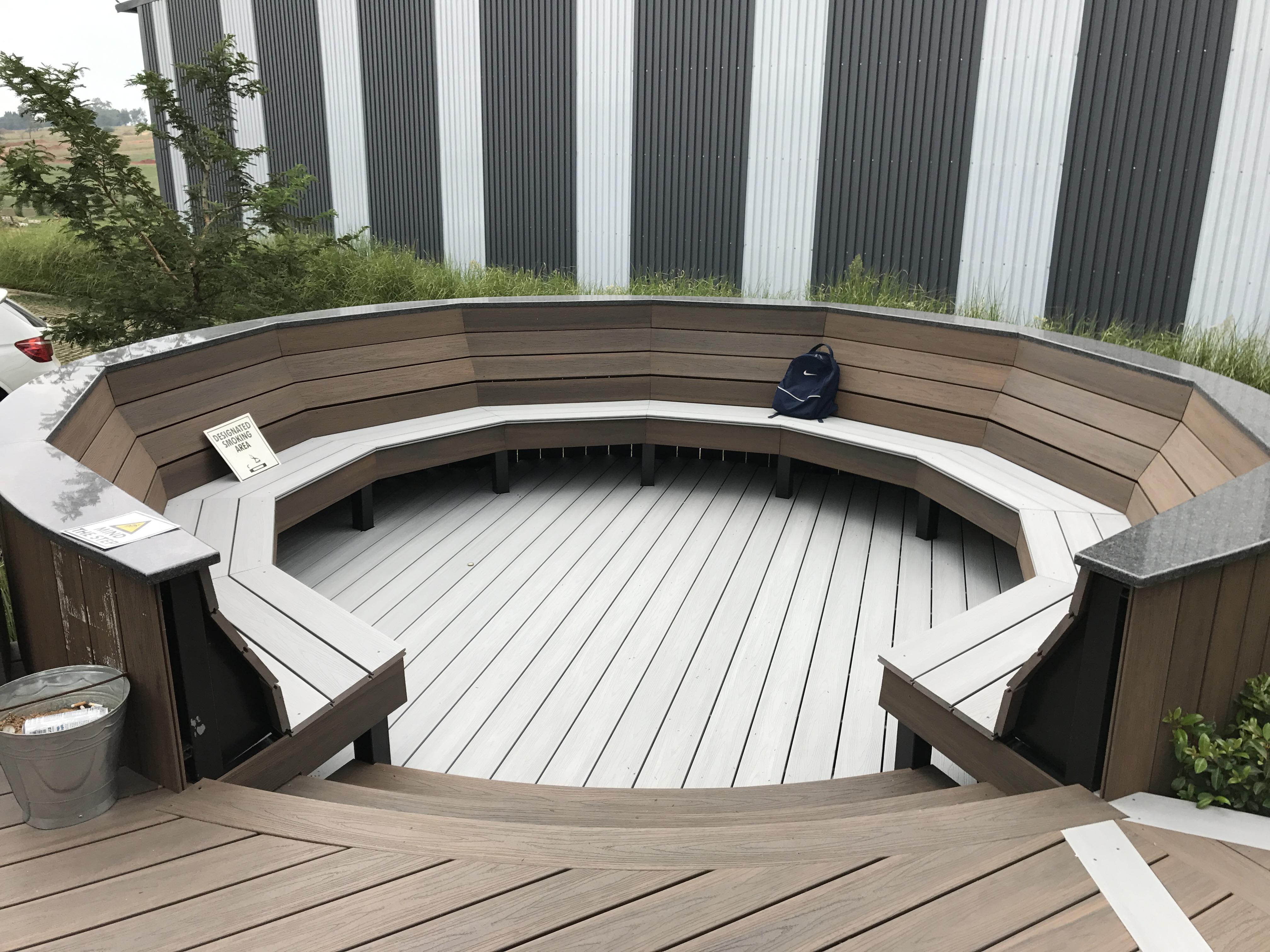 Composite Decking at EVA LAST