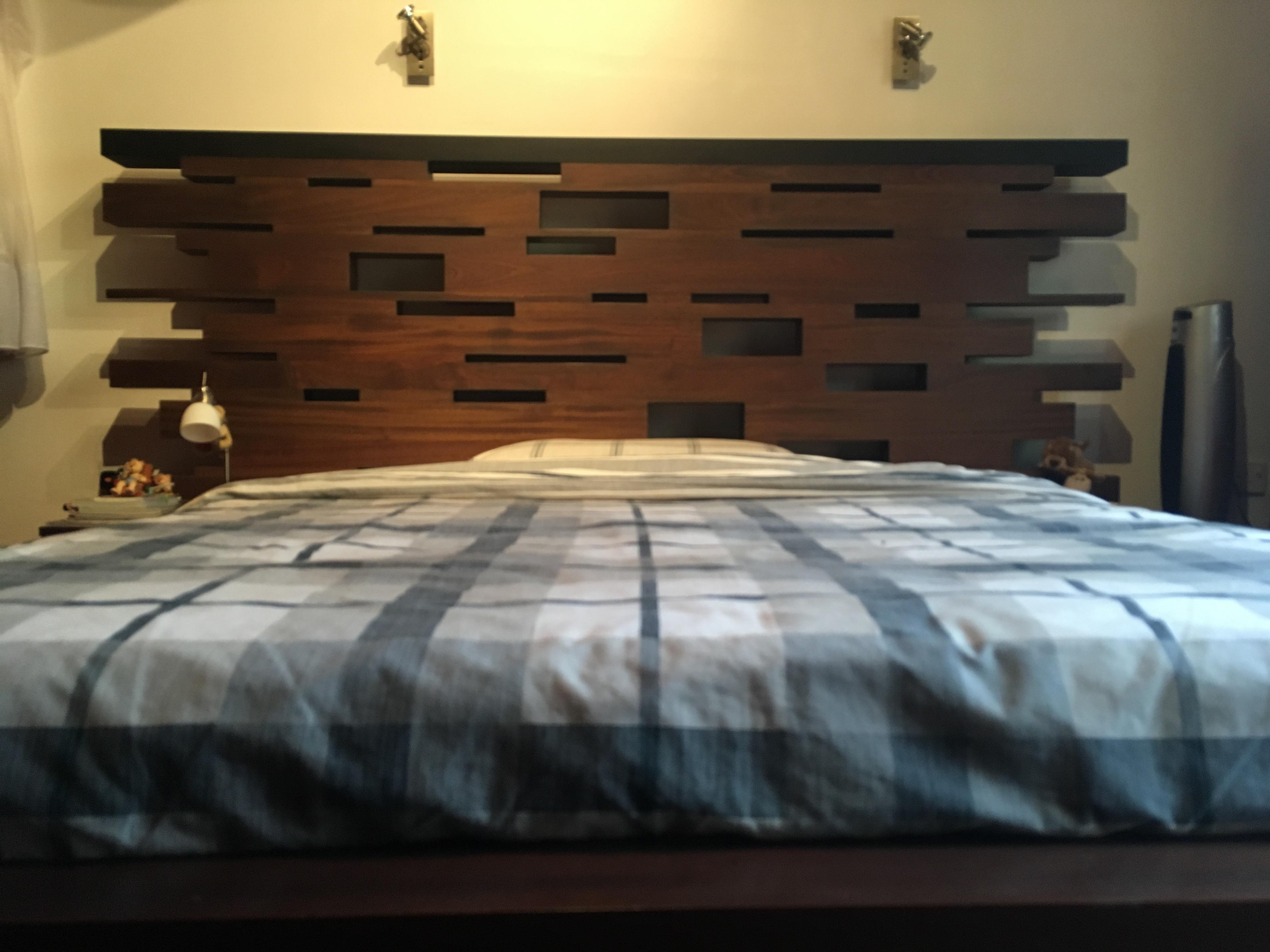 Contemporary Bed Headboard1